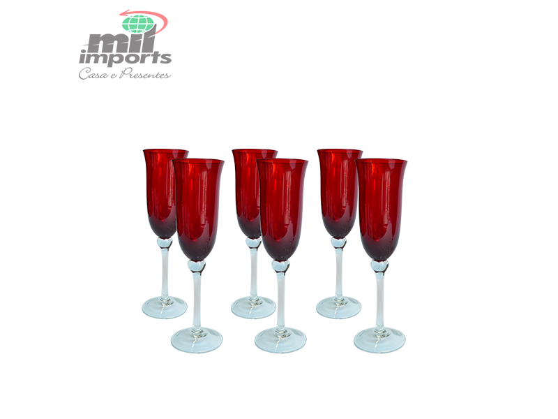 Taça Classic Champagne Red