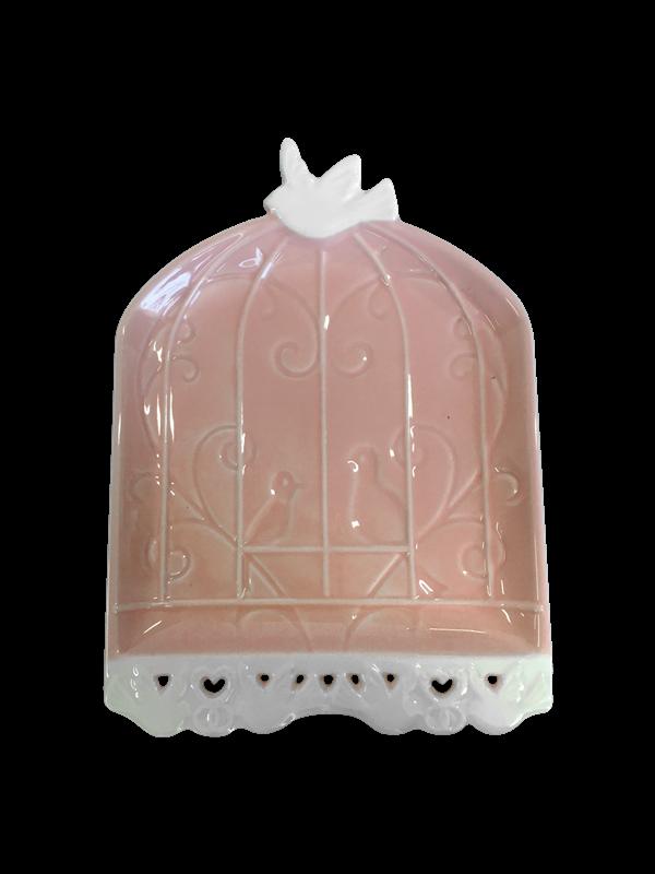 Prato Decorativo de cerâmica - Linha Glaze