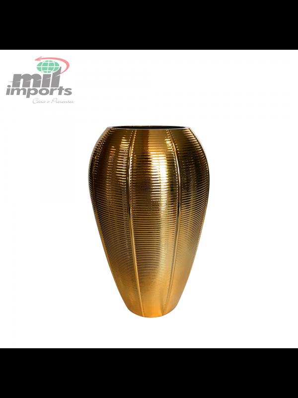VASO DECORATIVO - LINHA GOLD
