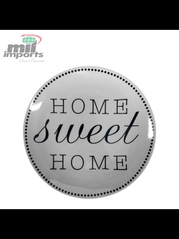PRATO EM CERÂMICA HOME SWEET HOME