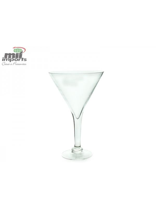 Taça de vidro versão cone