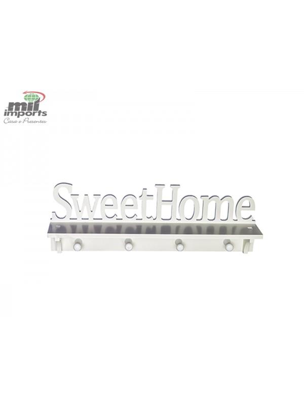 PLACA SWEET HOME DE PVC