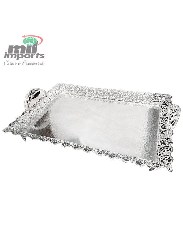 BANDEJA DECORATIVA DE METAL GATHIE - G